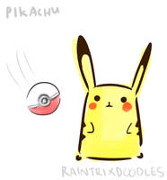Pikachuuuu by raintrix