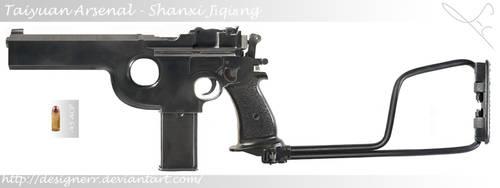 Dragon Pistol by LucasHC90