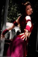 Fire Nation Suki by agentsakur9