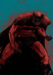 Batman Year 100 by luilouie