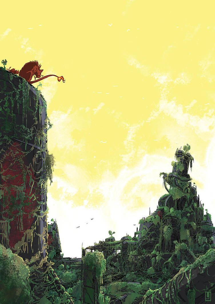 Final Fantasy VII by luilouie