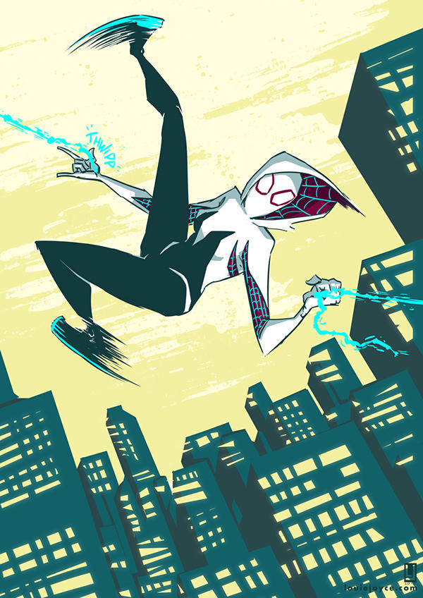 Spider Gwen by luilouie