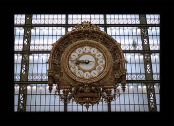 Horloge at Orsay by Blofeld60