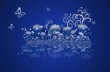 Blue Marbles by gabriela2006