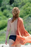Walking redhead... by NudeDevil