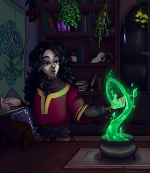 Necromancer's Vault by HoshiNoDestiny