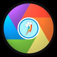 Rainbow Dash Icon for Google Chrome by Suriander