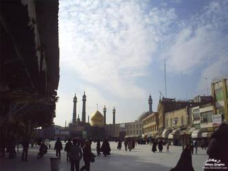 Holy Shrine Of Qom - 2008 - 2 by Alhelu