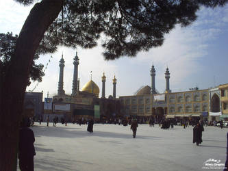 Holy Shrine Of Qom - 2008 - 3 by Alhelu