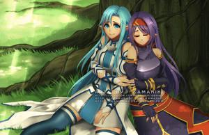 Sword Art Online: Zekken by Kamaniki