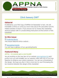 Newsletter-01 by kkashifkhawaja