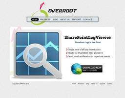 Website for overroot v2 by kkashifkhawaja