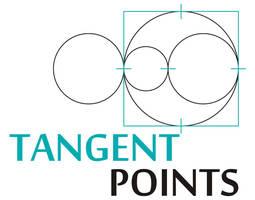 Logo for TangentPoints by kkashifkhawaja