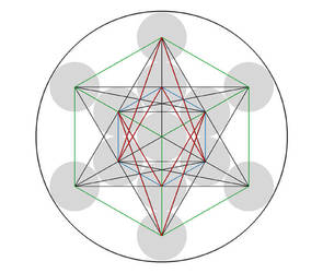 Metatrons Cube by chaoticspiral