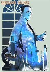 Sherlock Holmes by JamesTheShark