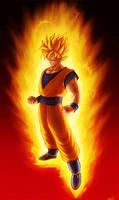 Son Goku by zachjacobs