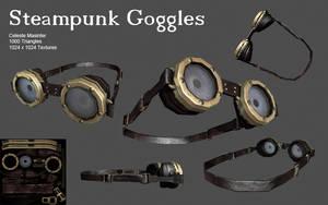 Steampunk Goggles - Finished by SandboxAlchemy