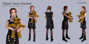 Abigail, Game Character by SandboxAlchemy