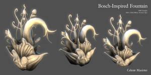 Bosch-Inspired Fountain by SandboxAlchemy
