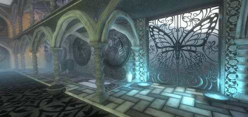 Butterfly Gate - Screenshot by SandboxAlchemy
