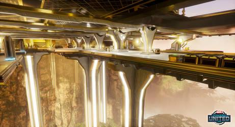 Marvel Powers United VR - Wakanda Lower Bridge by SandboxAlchemy