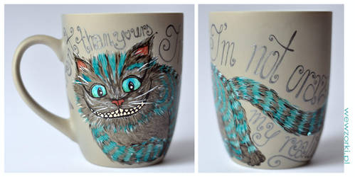 Cheshire Cat from Burton's Alice in Wonderland by smist
