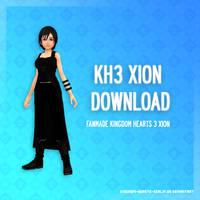 Kingdom Hearts 3 Xion - DL by SnowEmbrace