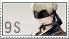 Static stamp Commission | 9S by SnowEmbrace