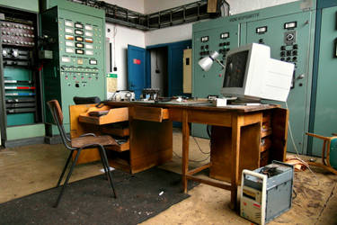 Boss's office by SimonGresko