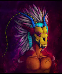 Warrior by MutantParasiteX