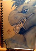 Airbrush Doodle - Nolan by MutantParasiteX
