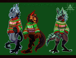Sweaters by MutantParasiteX