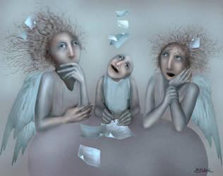 Wishes a Happy New Year by Bobrova