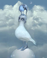 spring bird by Bobrova