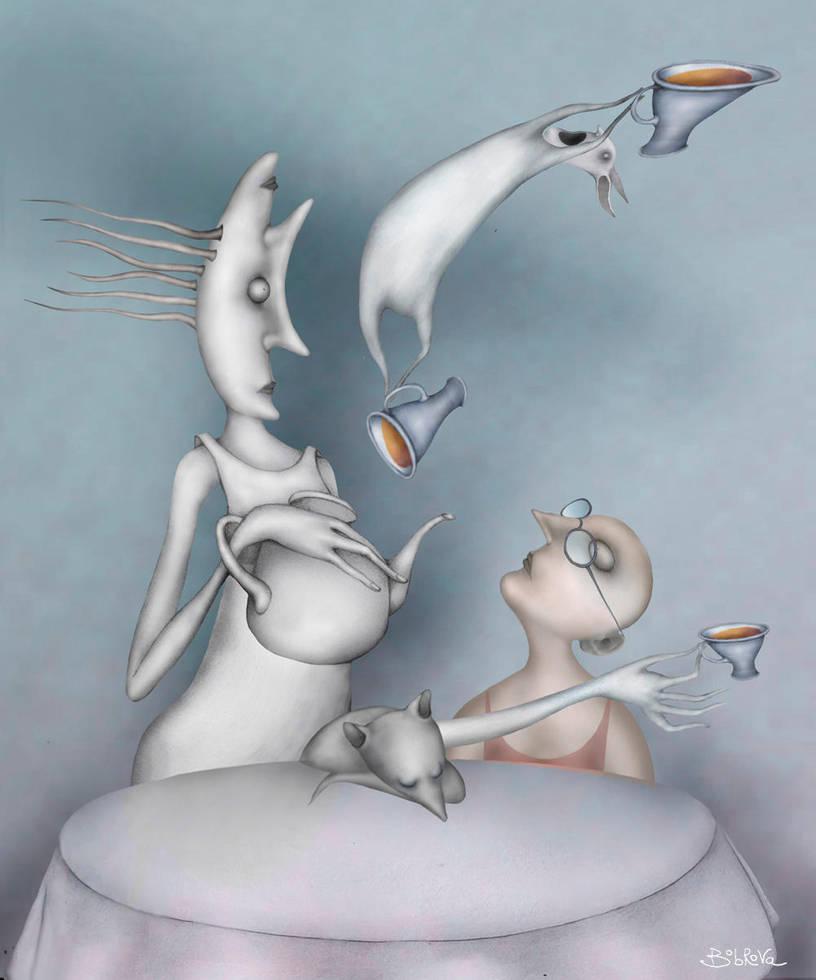 Tea time (About Alice) by Bobrova