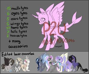 [P2U]BIG pony base by Gela98