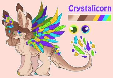 Crystalicorn by Gela98