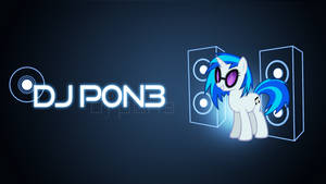 DJ P0N3 Wallpaper by xFlicker