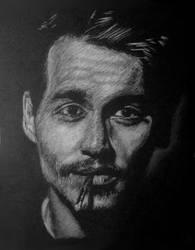 Johnny Depp by Jean-Luc-Aeon