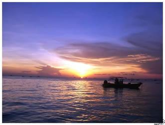 Boracay Sunset by cosmicadobo
