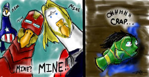 Loki is MINE_Nemo Parody by ShiningStar37