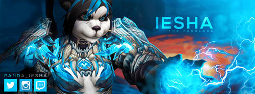 Iesha Facebook Header by Larinnian