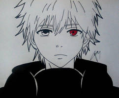 Kaneki Ken - Tokyo Ghoul by gabito852