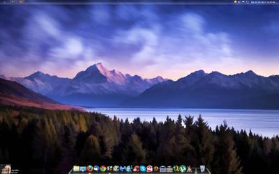 my desktop by yps666
