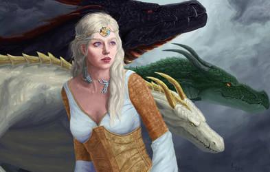 Daenerys Targaryen by rubenato
