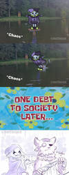 Falling into the water (meme) - Deltarune by NoriTheLord