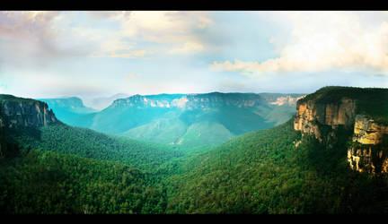 The Hills Beyond by Stykkisholmur