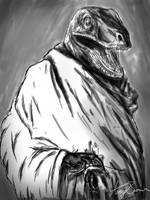 Raptor Ghandi by theACB