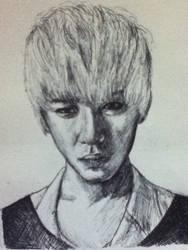 Daehyun from B.A.P by KittyKati