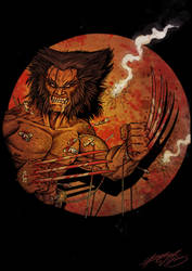 Wolverine color by grifth
